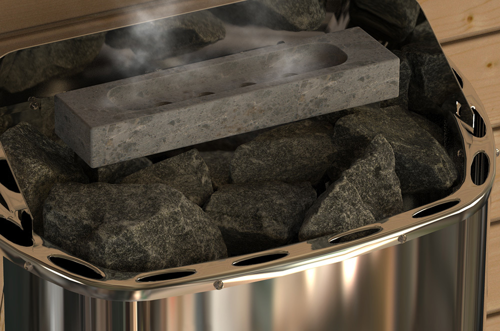 Увлажнители для каменки: Увлажнитель для сауны прямоугольный SAWO HP01-071