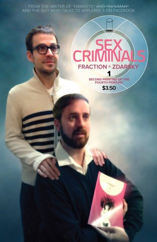 Sex Criminals #1 Fraction + Zdarsky Cover