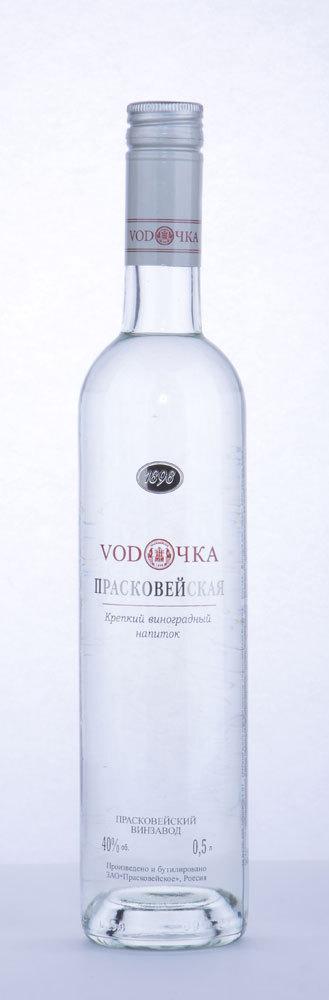 Крепкий виноградный напиток «Прасковейская Водочка» 0,5 л. 40%