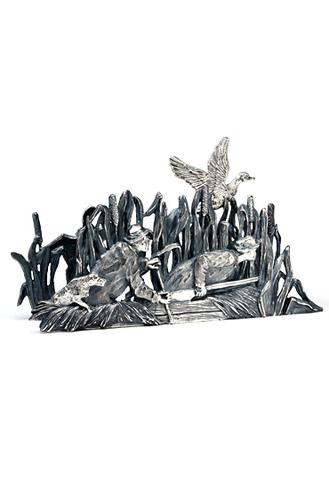 Салфетница «Охота на уток».