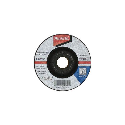 Отрезной диск по металлу Makita A30 115x3 мм