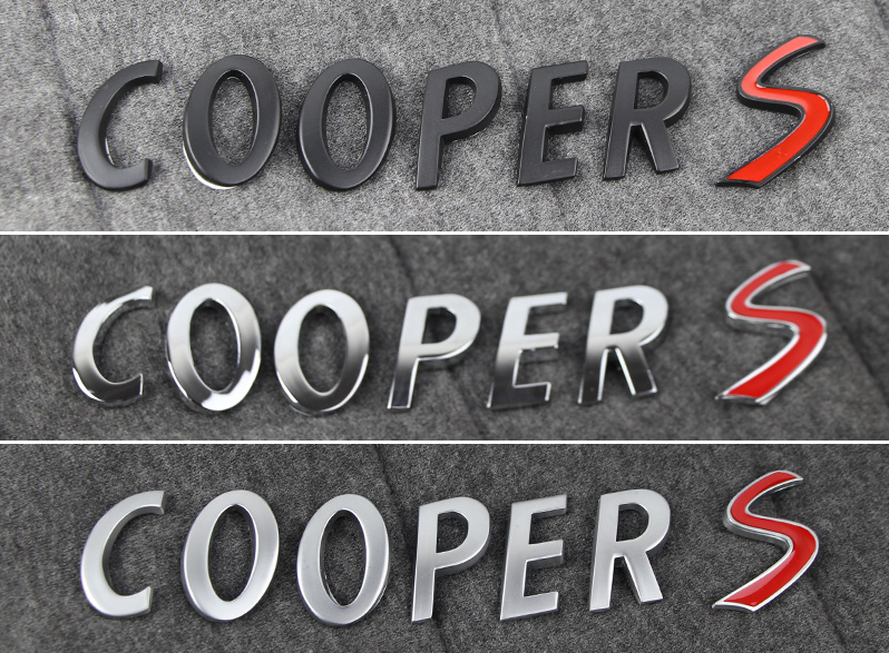 Надпись COOPER S frommer s® usa 2000