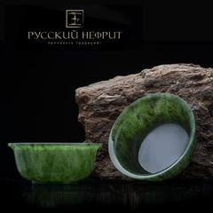Чашка для чая (гайвань) 1шт. Зелёный нефрит.