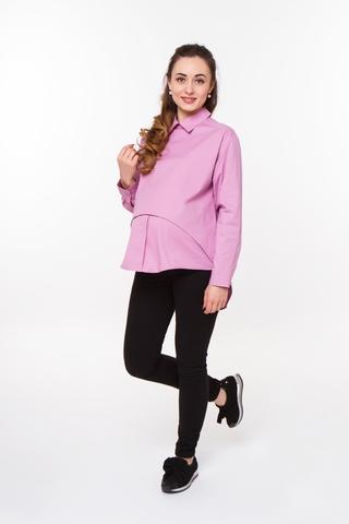 Блузка для беременных 08922 розовый
