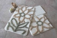 Коврик для ванной DO&CO (60Х100 см/50x60 см) NATUREL фото цвет натуральный