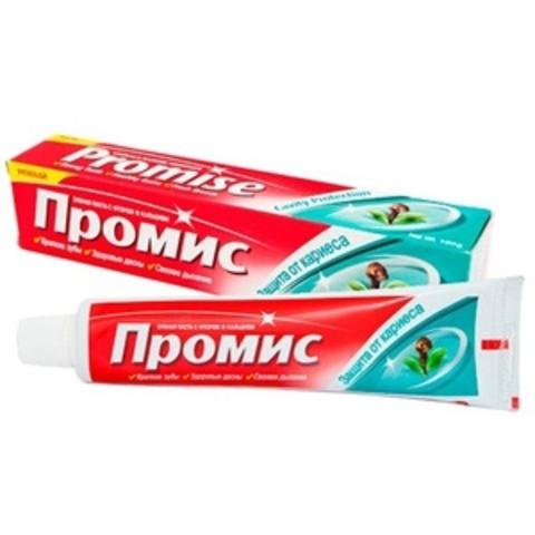 Зубная паста ДАБУР ПРОМИС, защита от кариеса, 100 г