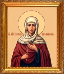 Христина Никомидийская Святая мученица. Икона на холсте.