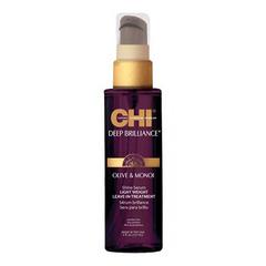CHI Deep Brilliance Olive & Monoi Shine Serum - Несмываемая сыворотка для волос
