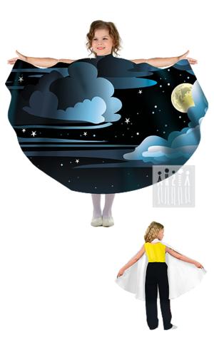 Фото Живые декорации Полупончо Ночь рисунок Карнавальные костюмы времена года - популярные образы детских утренников и досугов. В этом разделе представлены разнообразные модели времен года и явлений природы.