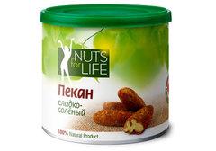 Пекан сладко-соленый Nuts for Life, 115г