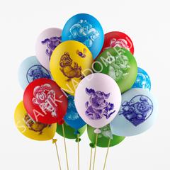 """Воздушные шары """"Веселые друзья"""""""
