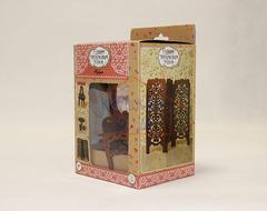 ЯиГрушка Будуар (туалетный столик, табурет, ширма) (коричневый) арт. 59420