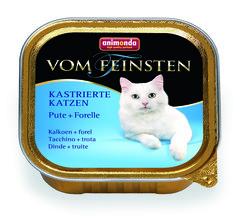 Animonda Vom Feinsten Adult Sterilised консервы для стерилизованных кошек с индейкой и форелью 100гр
