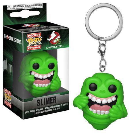 Брелок Лизун || POP! Keychain Ghostbusters Slimer