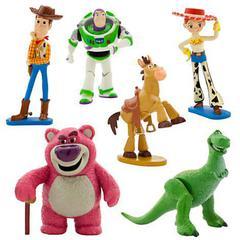 Набор из 6 фигурок - Toy Story (История Игрушек), Disney