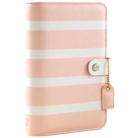 Планер PERSONAL PLANNER Binder: by Websters Pages (БЕЗ внутреннего наполнения) -Blush Stripe