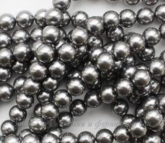 5810 Хрустальный жемчуг Сваровски Crystal Grey круглый 8 мм , 5 шт