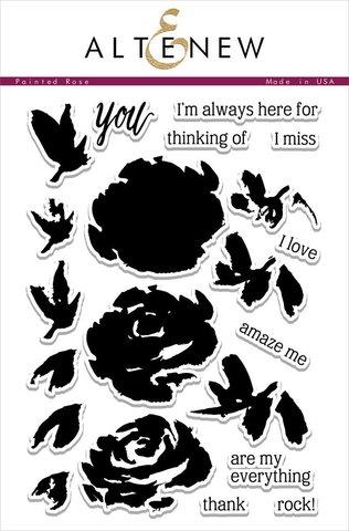 Набор штампов Painted Rose Stamp Set