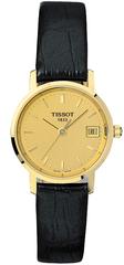 Женские швейцарские золотые часы Tissot T-Gold Goldrun T71.3.114.21