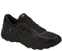 Кроссовки внедорожники Asics Gel-Fujitrabuco 6 G-TX Black мужские распродажа