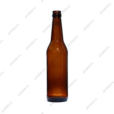 Бутылка пивная Long Neck 0,5 л. коричневая, 16 шт