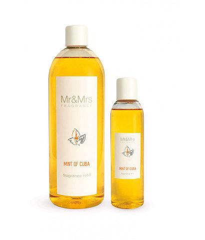 Наполнитель для ароматического диффузора Blanc №6 Мята Кубы, Mr&Mrs Fragrance