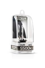 Ксеноновая лампа D2R VIPER (+80%) 5500к.