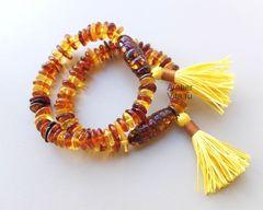 янтарные браслеты бохо