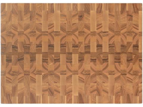 Торцевая разделочная доска 55x40x4 см. ясень,  арт. 079