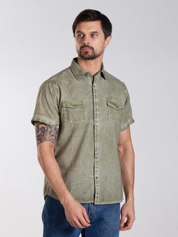 Рубашка к/р муж.  M012-01D-44GS SAHARA