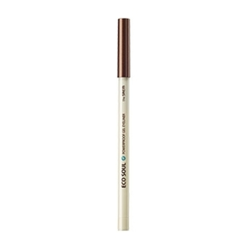 THE SAEM EYE Карандаш для глаз водост. гелевый 17 Eco soul Waterproof gel eyeliner 17.Light Brown 0.5гр