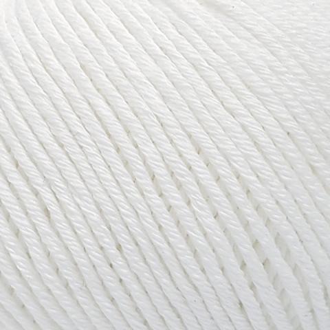Пряжа Gazzal Organic Baby Cotton 415 белый