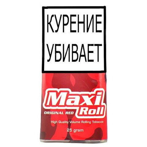 Табак MAXI ROLL ORIGINAL RED (25 гр)