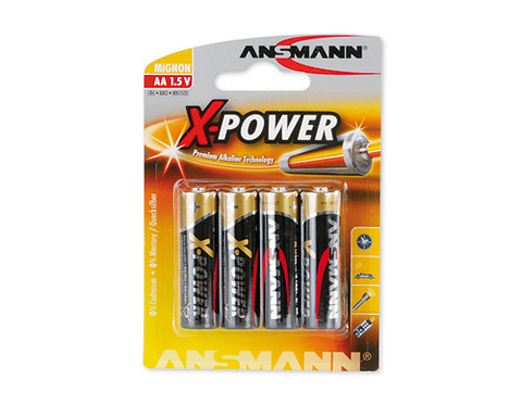 Батарейка X-POWER AA ANSMANN 1.5V - 4 шт