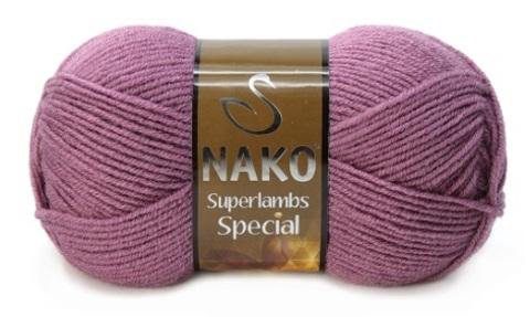 Пряжа Nako Superlambs Special арт. 569 пыльная роза