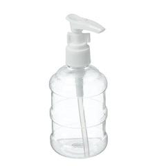 бутылочка для хранения с дозатором, 150мл, цвет прозрачный