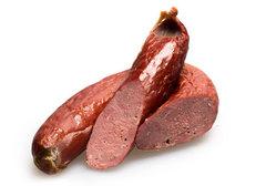 Колбаса печено-копченая из говядины