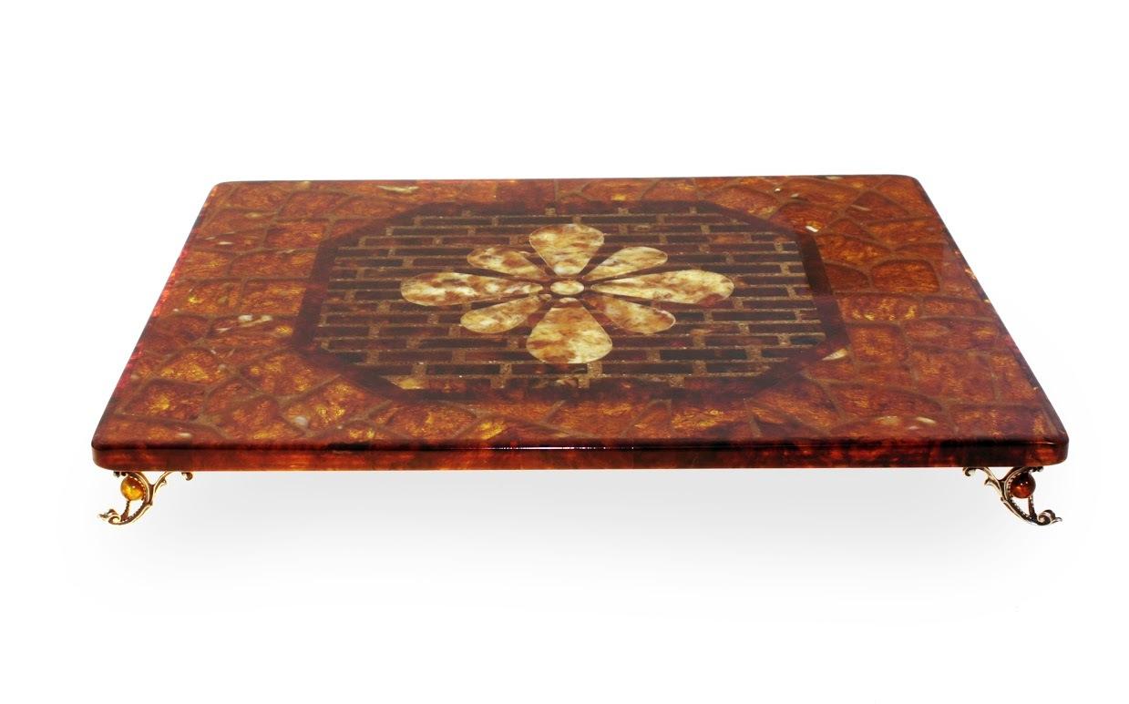 Чайный столик из янтаря от 83 330 руб