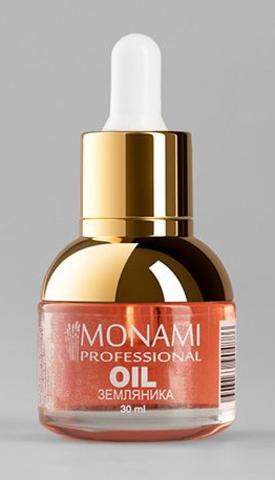 Monami масло питательное Земляника 30 мл
