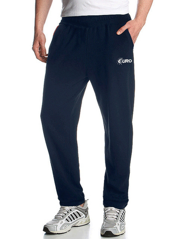 4176-4 спортивные брюки мужские, темно-синие