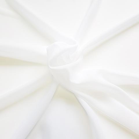 Креп шифон белый теплый оптом. Ш-300 см. Турция. 08