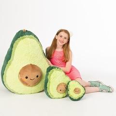 Плюшевая игрушка Авокадо 40 см
