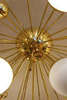 Large Sputnik Ceiling Mount Chandelier, Italy, 2015