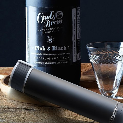 Мини-термос Asobu Skinny mini (0,23 литра), черный*