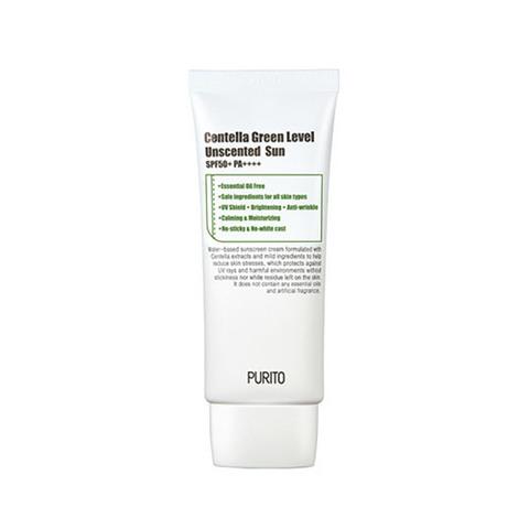Солнцезащитное средство PURITO Centella Green Level Unscented Sun SPF50+ PA++++ 60ml