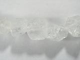 Бусина из горного хрусталя, фигурная, 8x10 - 8x10 мм (природная форма)