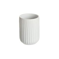 стакан для зубных щеток manhattan белый