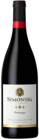 Вино Simonsig, Pinotage, 0.75 л