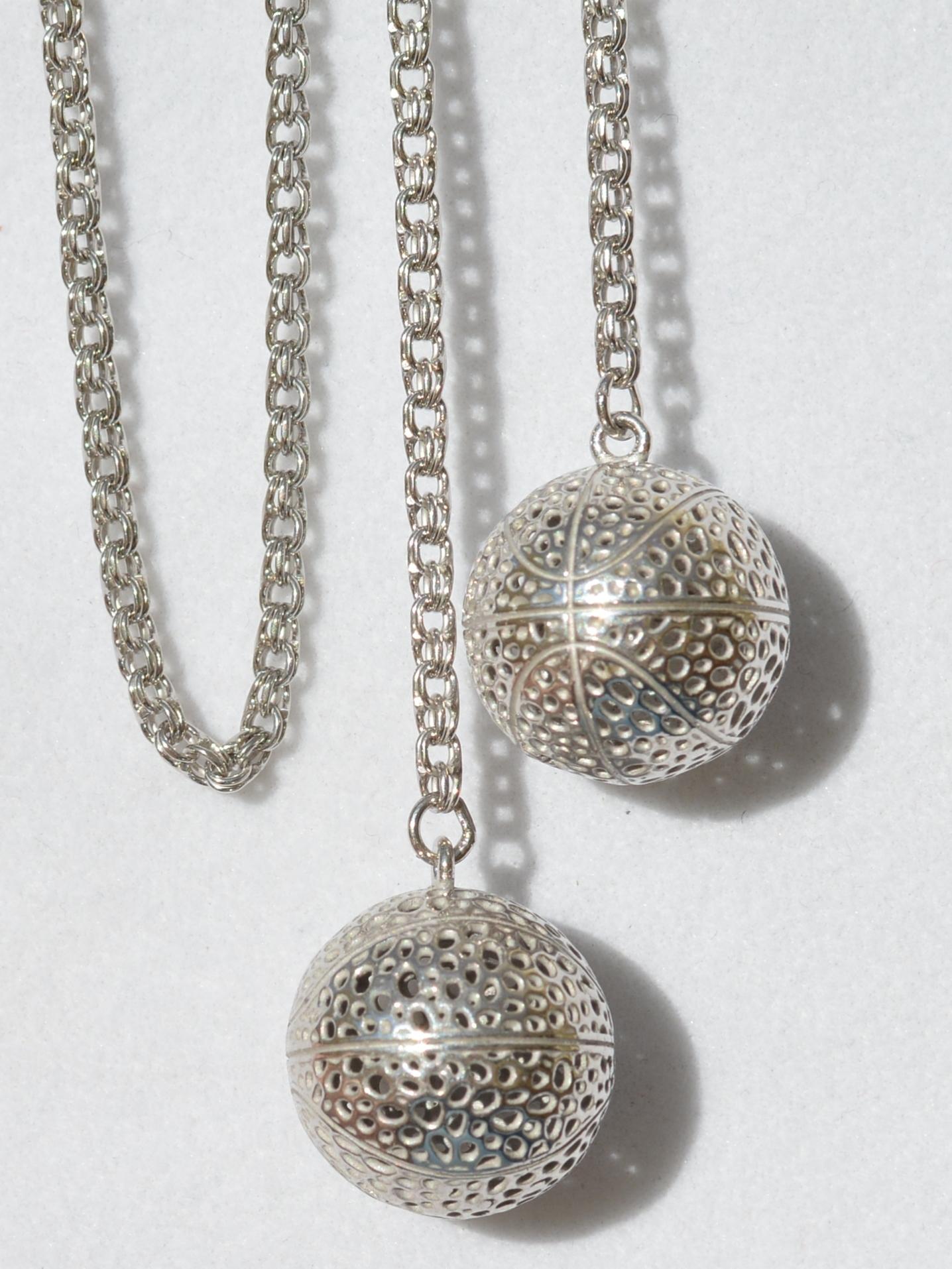 Цепь-галстук (серебряная цепочка)
