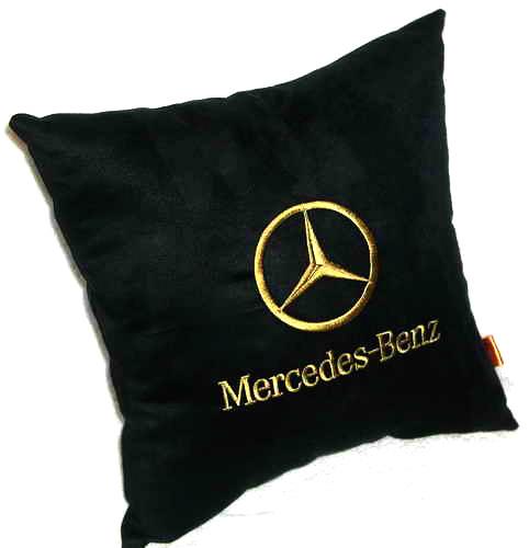 Подушка автомобильная с логотипом Mercedes-Benz